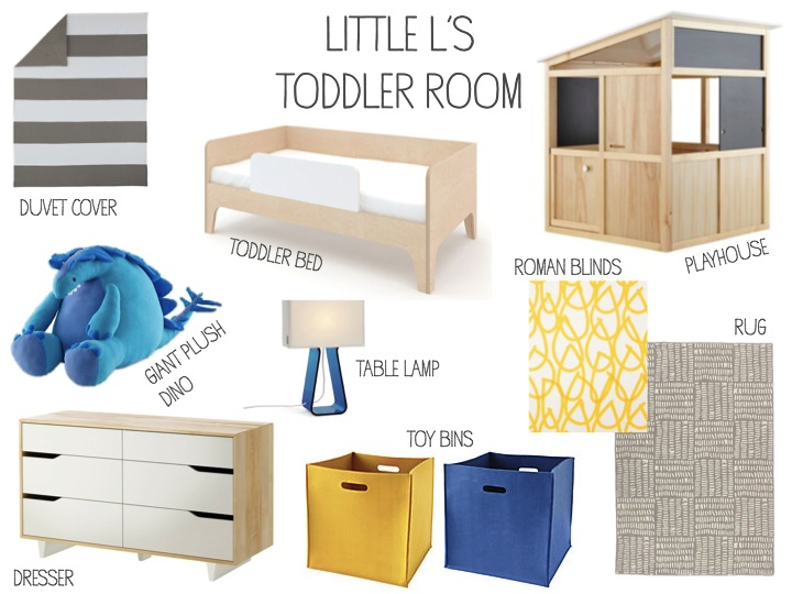 Little L's Toddler Room