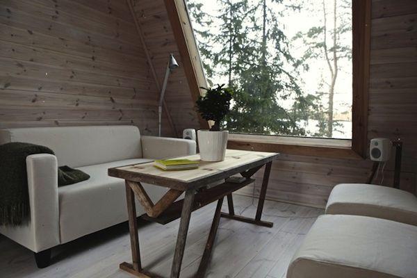 Finnish micro house   Textured Modern