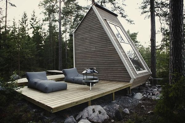 Finnish Micro House | Textured Modern