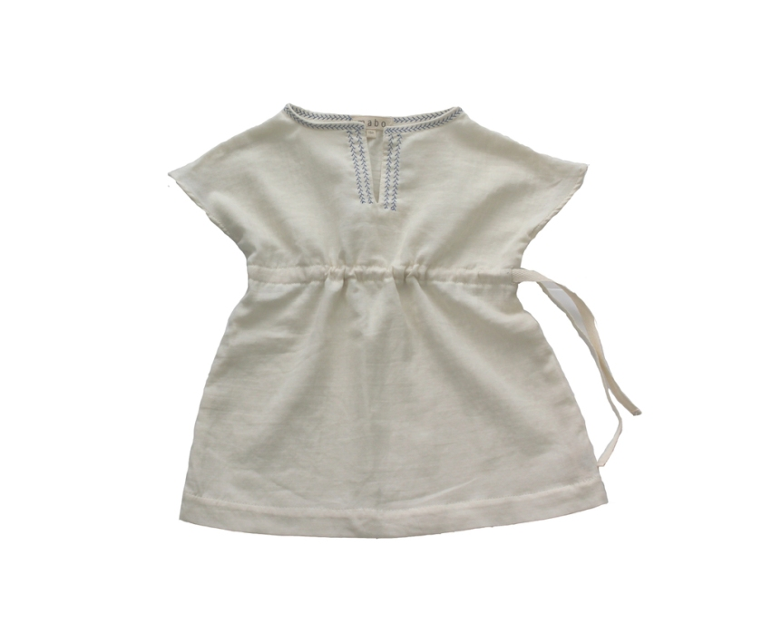 Mabo Kids_mimi_tunic_cream